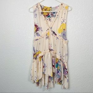 Free People Floral Sleeveless Dress Small